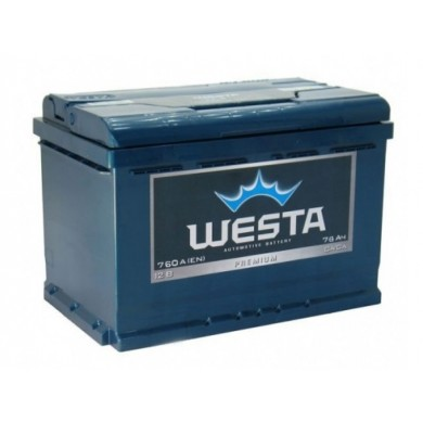 Аккумулятор 78AH 12V Westa Premium EFB