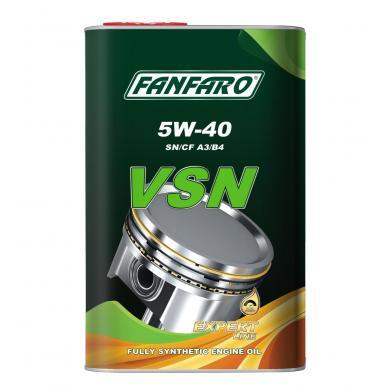 Масло FanFaro VSN (металл) 5W-40 (1L) Mоторное масло