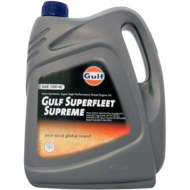 Масло Gulf Superfleet Supreme 10W-40 (60L) Моторное масло