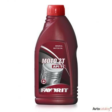 Масло Favorit Moto 2T API TC (1L) Моторные масла