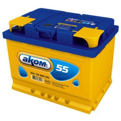 Аккумулятор AKOM EFB (taxi) 55Ah 12V