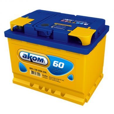 Аккумулятор AKOM  60Ah