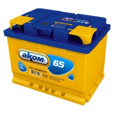 Аккумулятор AKOM VL 65Ah 12V