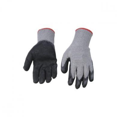 Перчатки рабочие (ткань+каучук)