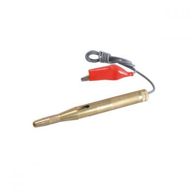 Тестер вольтметр 6-24V метал (медь)