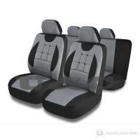 Чехлы для сидений Ekostar к/т (серые)