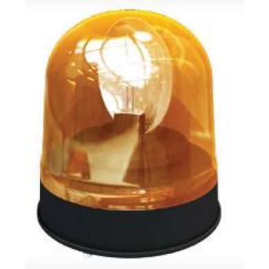 Проблесковый маячок 12V H1 55W (оранж)