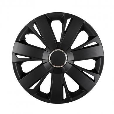 Колпаки для колес 2S R 14 (серые-черные)