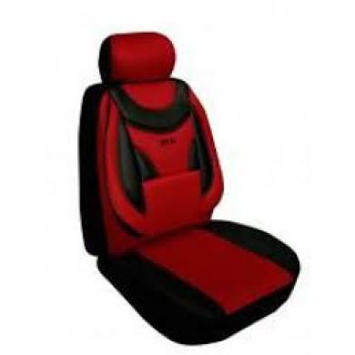 Чехлы для сидений Ekostar к/т (красные)