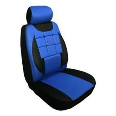 Чехлы для сидений Ekostar к/т (синий)