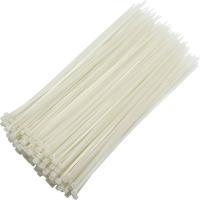 Хомуты пластиковые 3,6х150 мм  белые комплект (100шт)