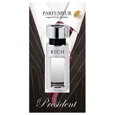 """Ароматизатор в дефлектор """"Rich"""" President"""