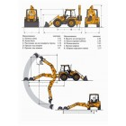 Бульдоэкскаватор JCB 4CX ECO колесный