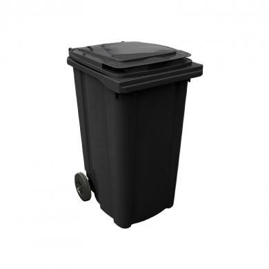 Контейнер для мусора с колесами EU 240 л (black)