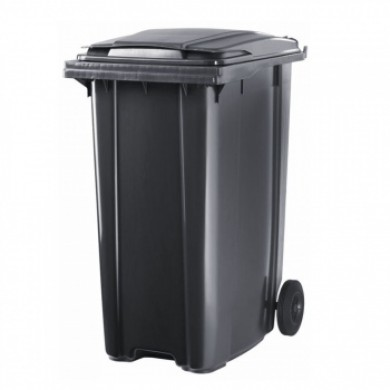 Контейнер для мусора с колесами 360 л  (black)