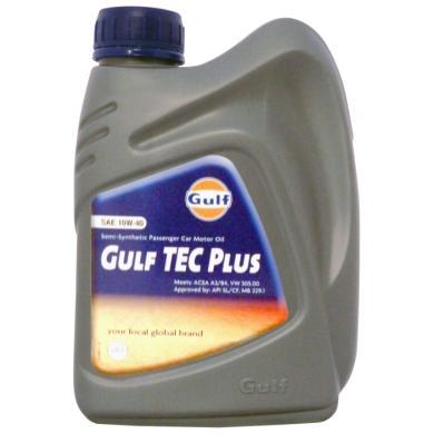 Масло Gulf Tec Plus 10W40 (1 л)