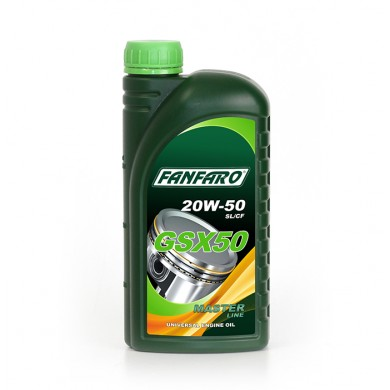 Масло Fanfaro GSX50 20W50 (1 л)
