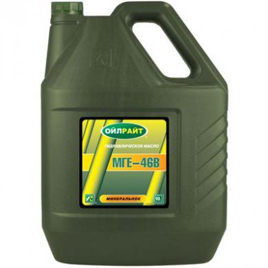 Масло гидравлическое МГЕ-46В Oil Right (10л)