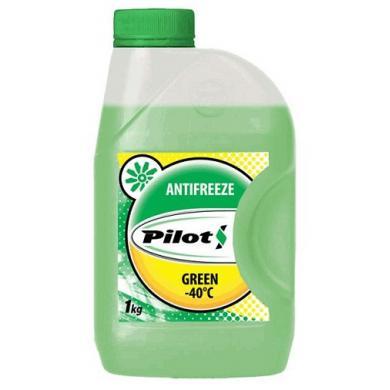 Антифриз PILOTS green line -40C (Зелёный)  1кг
