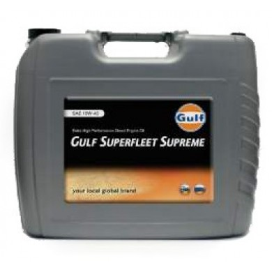 Масло Gulf Superfleet Supreme 10W40 (20 л)