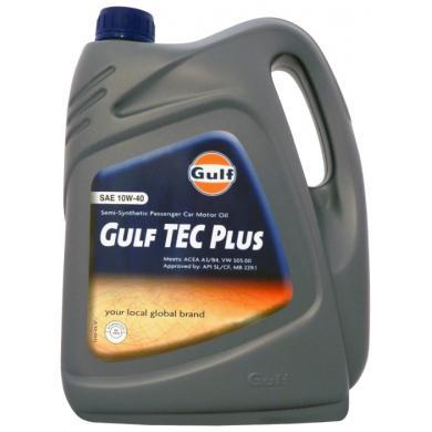 Масло Gulf Tec Plus 10W40 (5 л)