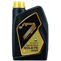 Масло S-Oil 7 Gold 5W30 (1 л)