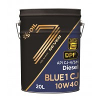 Масло S-Oil 7 Blue1 CJ 10W40 Euro-5/6 (20 л)