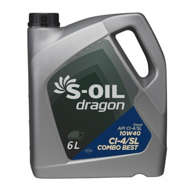 Масло S-Oil Dragon Combo 10W40 (6 л)