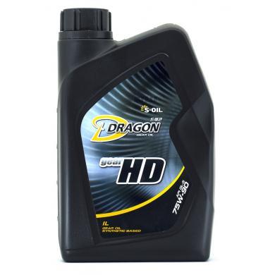 Масло S-Oil Dragon Gear HD 75W90 (1 л)