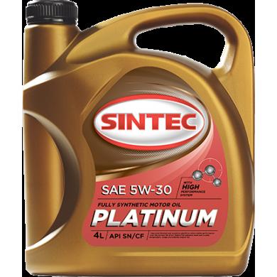 Mасла SINTEC Platinum SAE 5W-30 API SN/CF 4 л