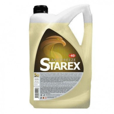 Антифриз Starex Yellow -40C (жёлтый) 10кг