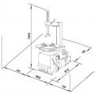 Шиномонтажный станок для легковых шин AA-TC112