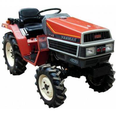 Трактор Yanmar f145d
